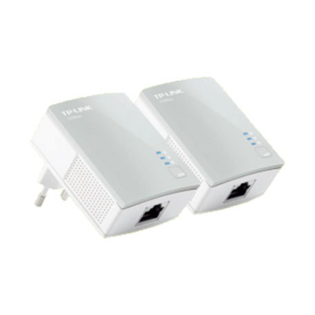 TP-LINK TL-PA4010KIT AV600 600Mbps Nano Powerline Adapter Starter Kit