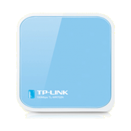 TP-LINK TL-WR702N 150 Mbps Wireless N Nano Router