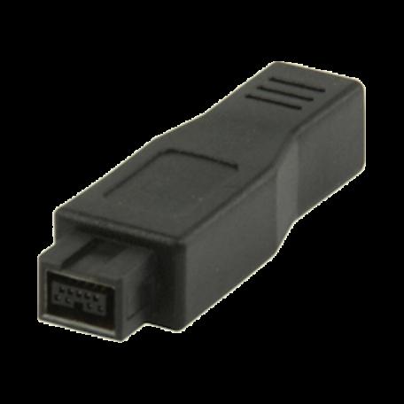 Valueline VLCP62903B FireWire adapter van 4p vrouwelijk -> 9p mannelijk