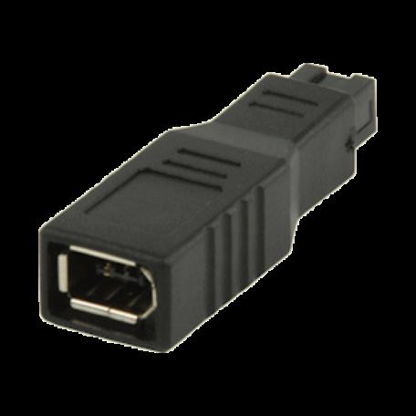 Valueline VLCP62905B FireWire adapter van 6p vrouwelijk -> 9p mannelijk