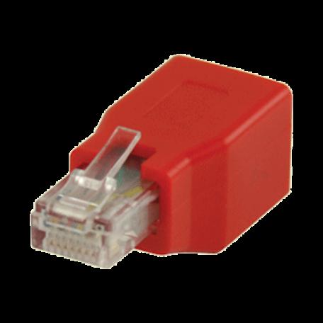 Valueline VLCP89251R RJ45 CAT6 crossover adapter