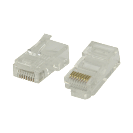 Valueline VLCP89330T 10x RJ-45 Easy-Use stekker UTP CAT5 stugge kabel