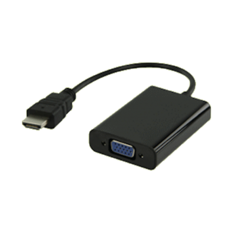 Valueline VLMP34900B0.20 HDMI + audio naar VGA + audio verloopkabel