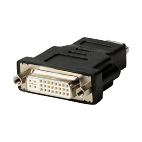 Valueline VLVP34910B HDMI Male (19-pins) <> DVI-I (24+5) Female adapter
