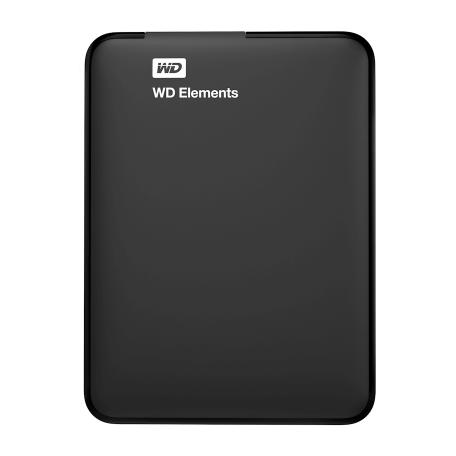 WD WDBU6Y0040BBK-WESN Elements Portable 4TB 2.5 inch harddisk met USB3.0 aansluiting (Bus-Powered)