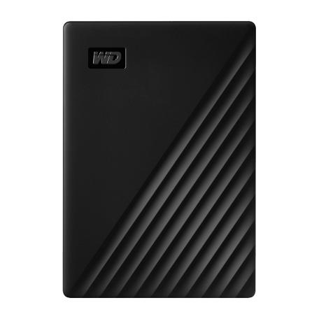 Western Digital WDBPKJ0050BBK-WESN My Passport draagbare 5TB harddisk (USB3.2 interface, 2.5 inch)