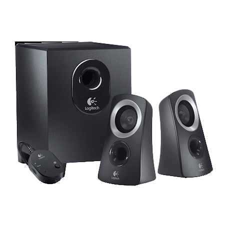 Logitech z313 2.1 Multimedia Speakers (25W RMS, subwoofer)