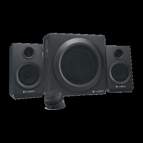 Logitech 980-001202 Z333 2.1 Speaker System inclusief subwoofer, 40W RMS